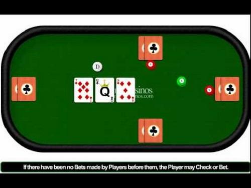 دست های مختلف بازی poker